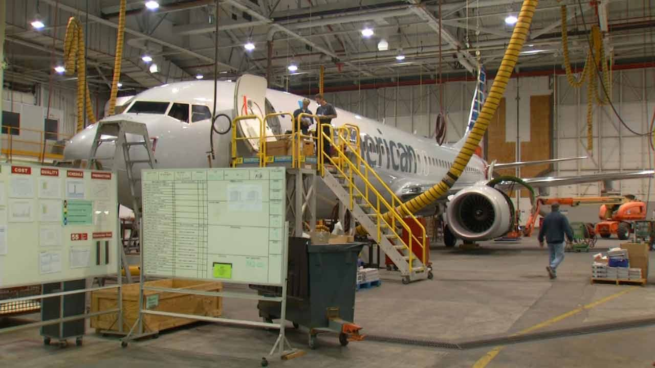 Announcement Of Brazil Hangar Worries Tulsa American Airlines Employees