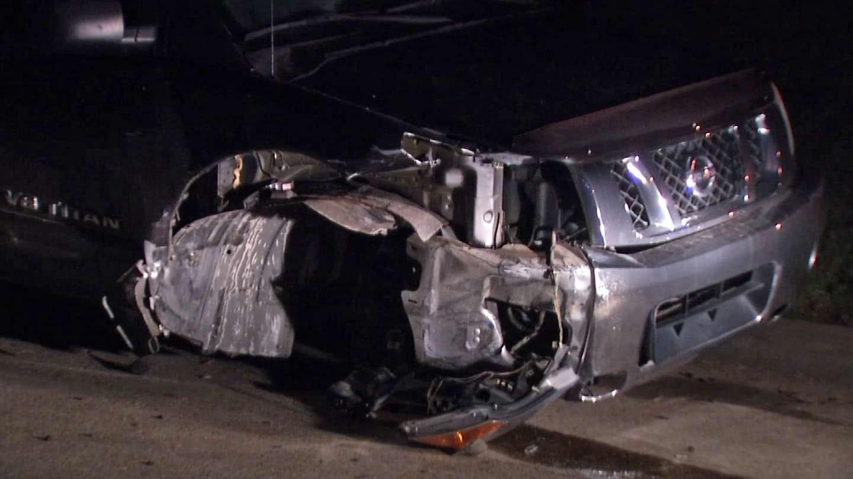 Pursuit Suspect Slams Into Tulsa Couple's Truck