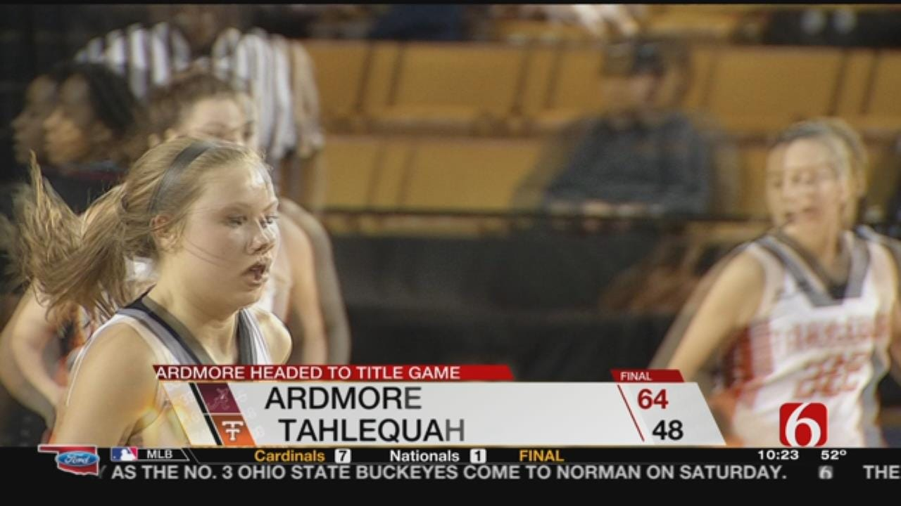 Ardmore Takes Down Tahlequah Lady Cardinals