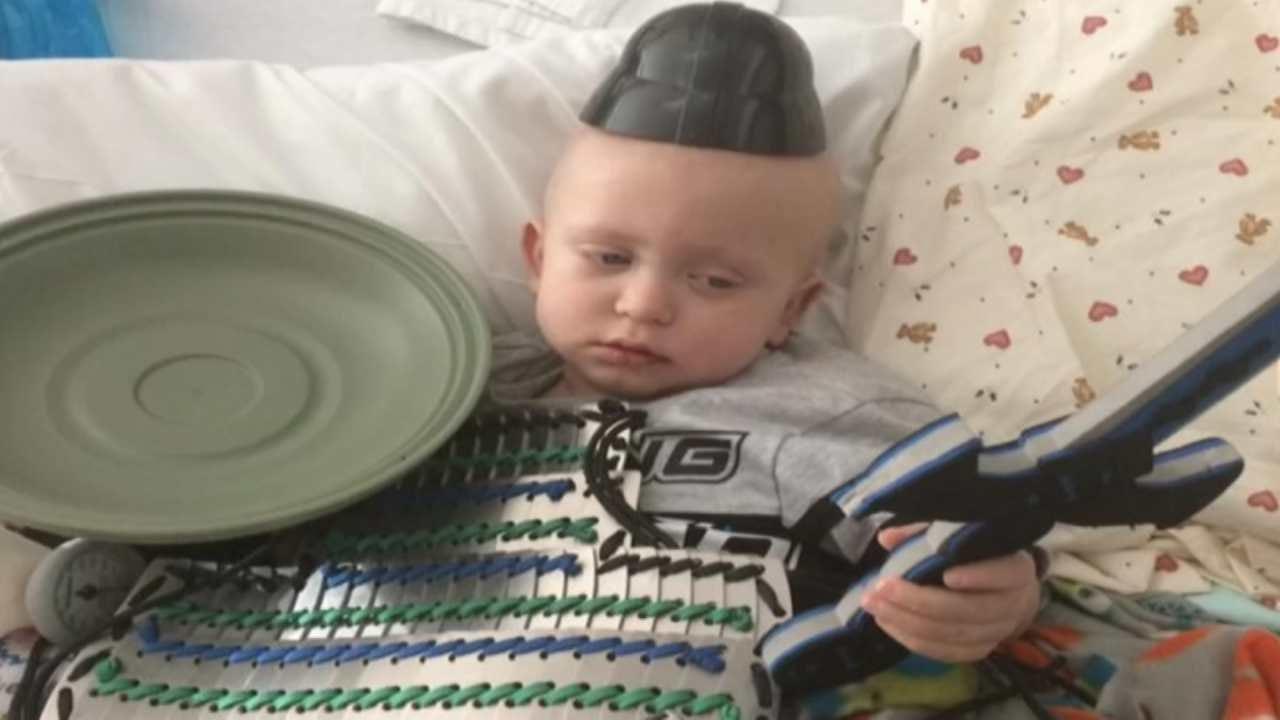 Child Battling Rare Cancer, Given Escort Back To Tahlequah Home