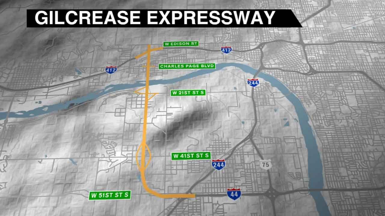 Tulsa's Gilcrease Turnpike Work To Start In A Year