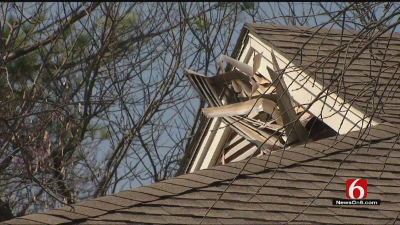 Woman Breaks Through Roof Of Midtown Home In Attempted Burglary