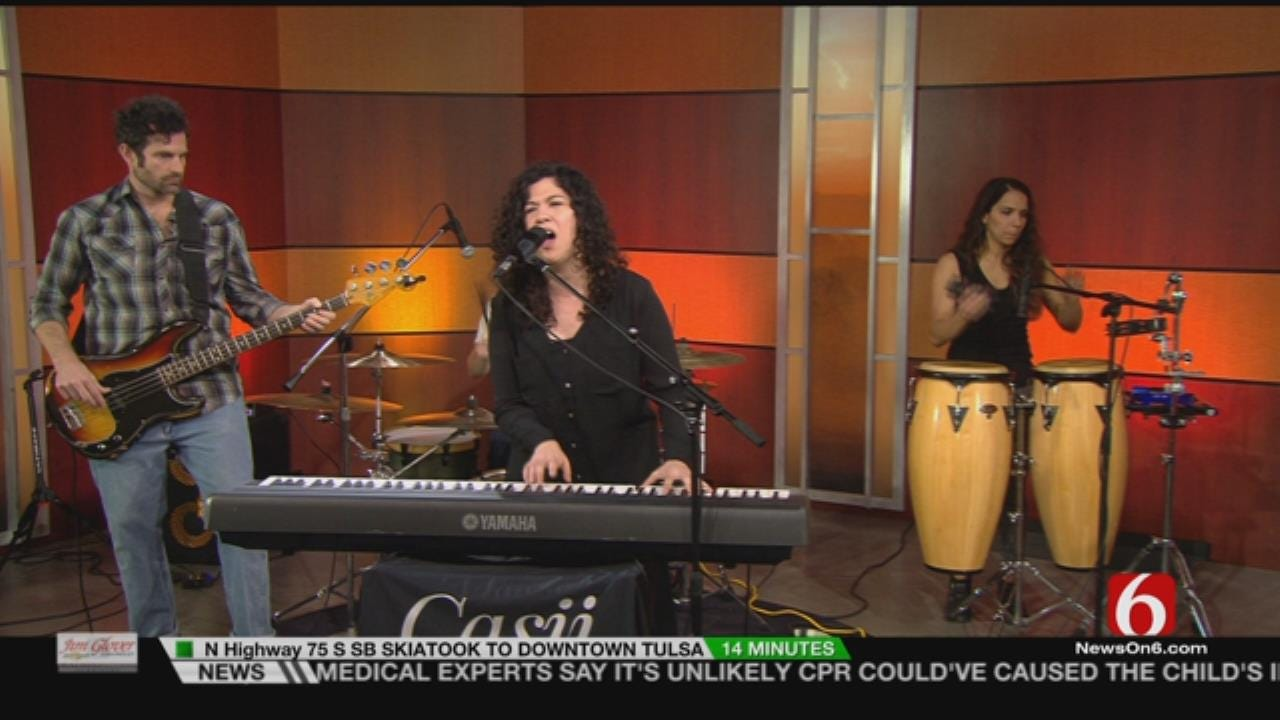 Casii Stephan & The Midnight Sun Perform On 6 In The Morning