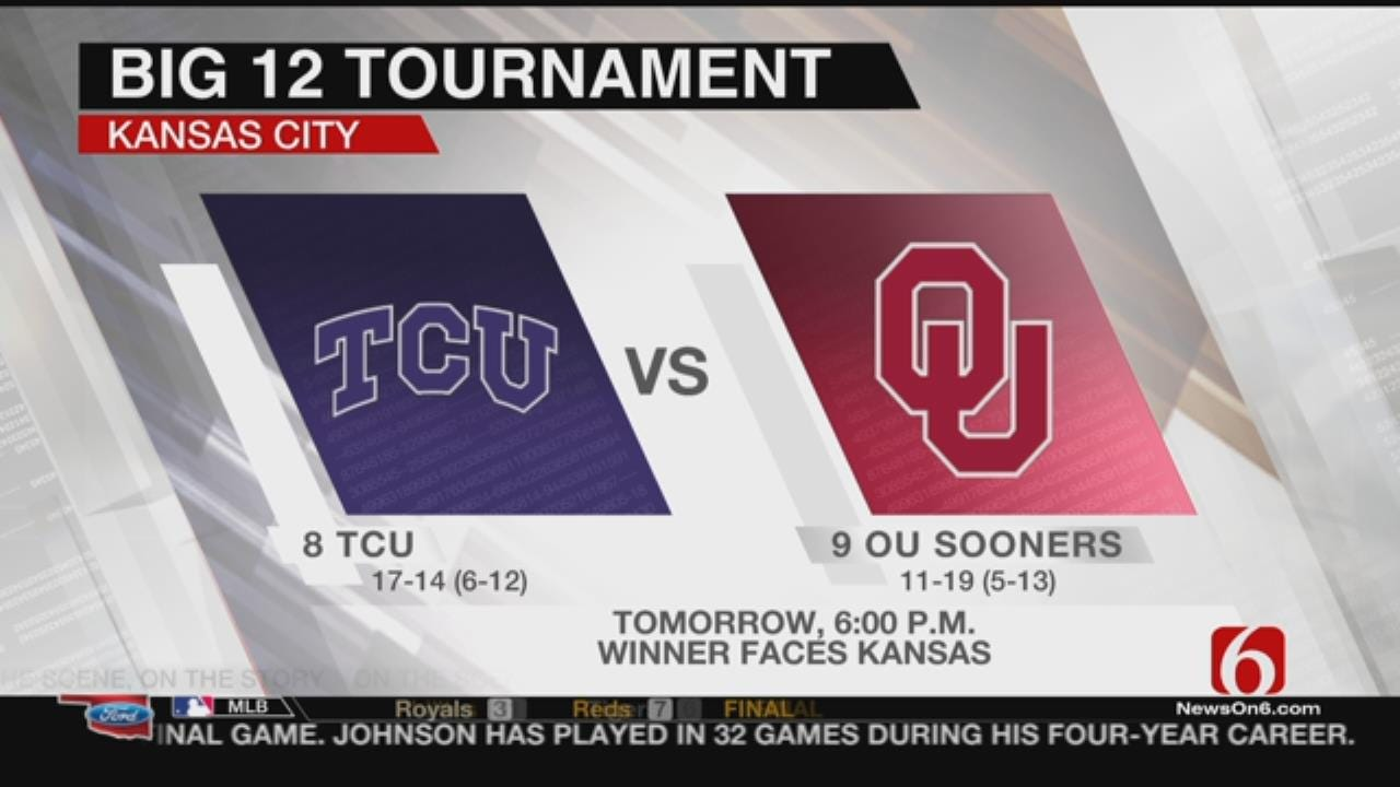OU Opens Big 12 Championship Against Horned Frogs