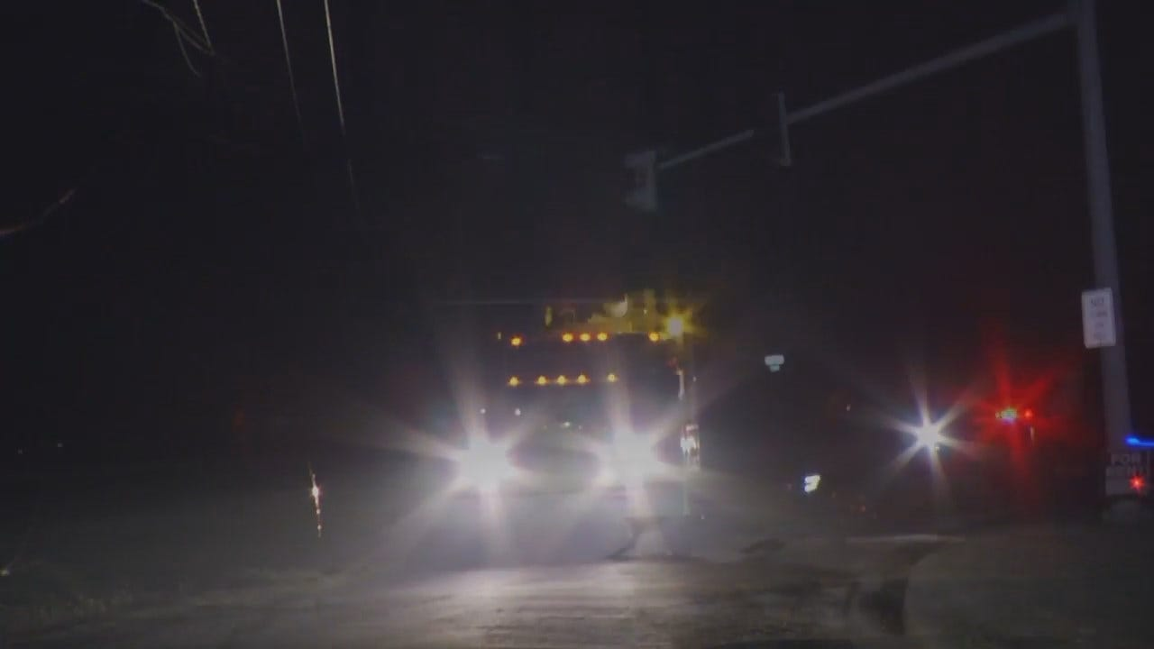 WEB EXTRA: Video From Power Pole Crash In Turley