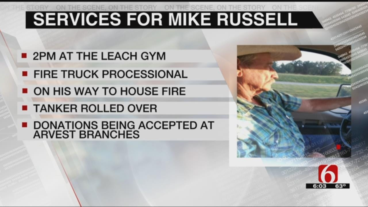 Services Held For Leach Firefighter Killed In Wreck