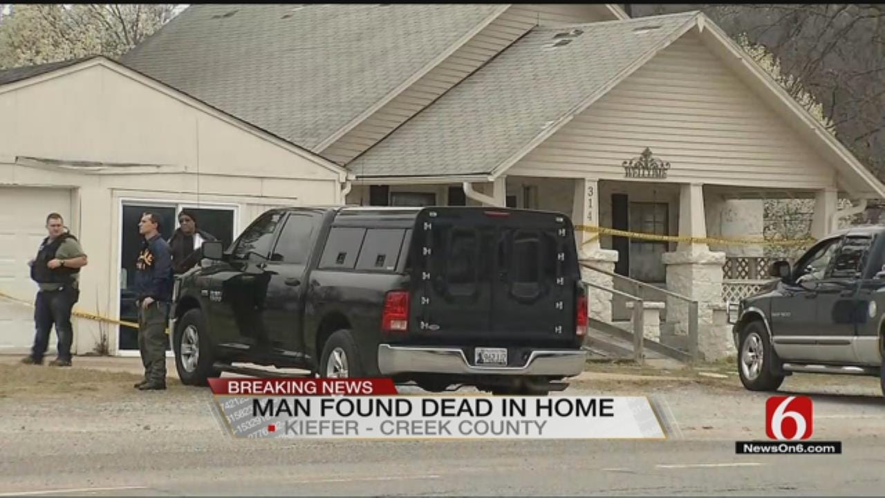 OSBI Assists Kiefer Police In Investigation Of Man's 'Suspicious Death'