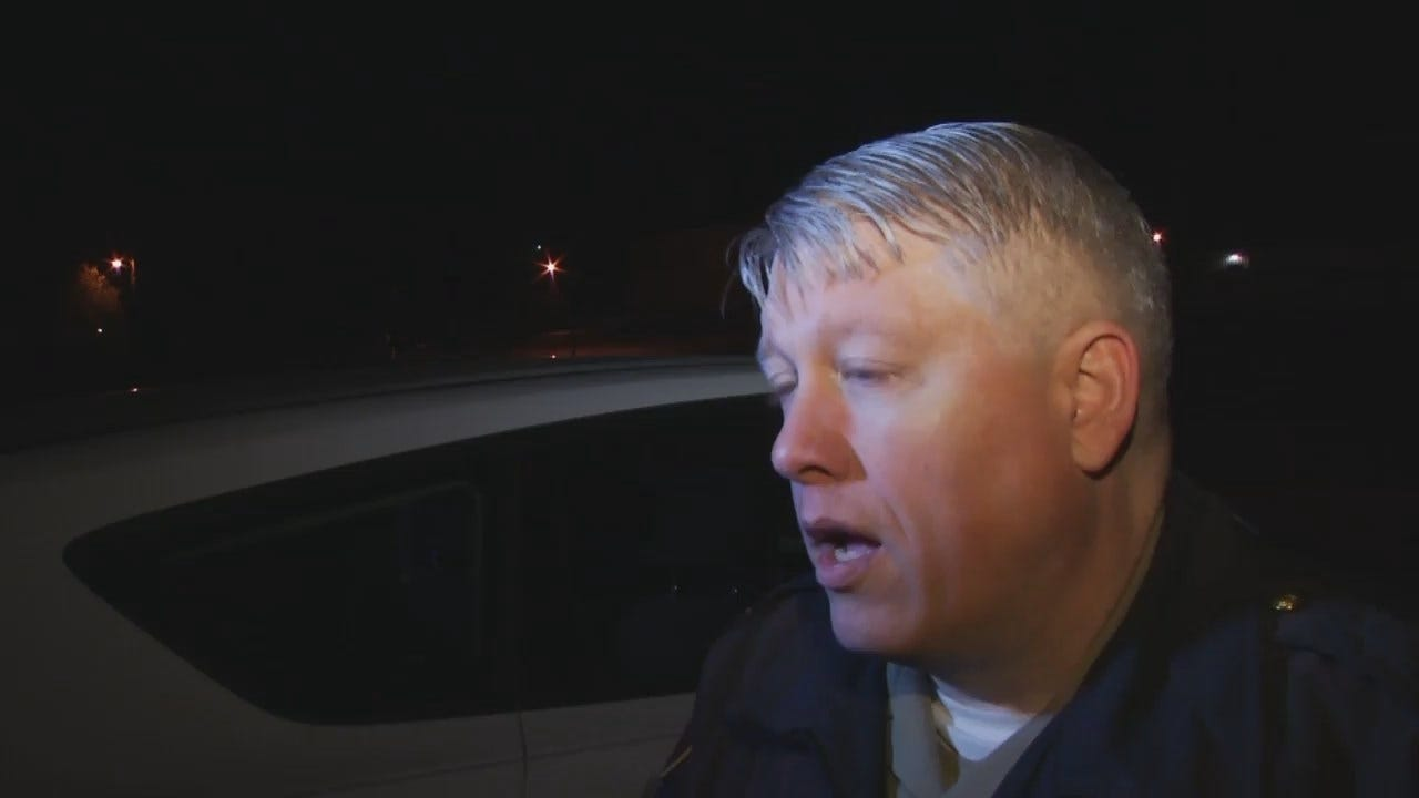 WEB EXTRA: Tulsa County Sheriff's Office Captain John Bryant Talks About Shooting