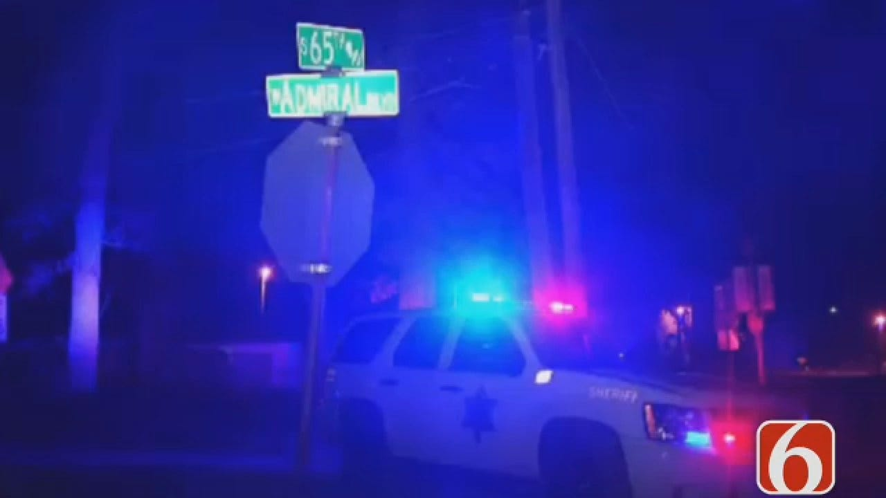 Dave Davis Reports On West Tulsa Shooting Which Wounded One Person
