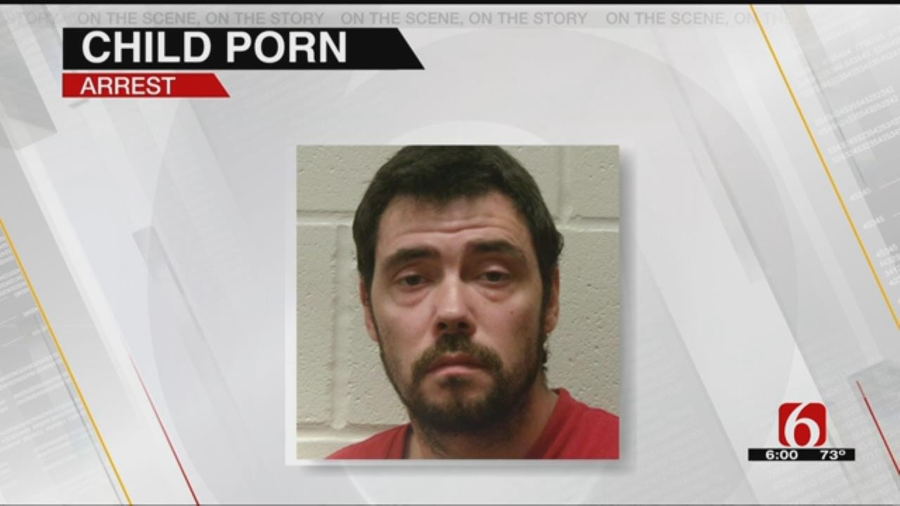 Dewey Man Charged With Possessing Child Pornography