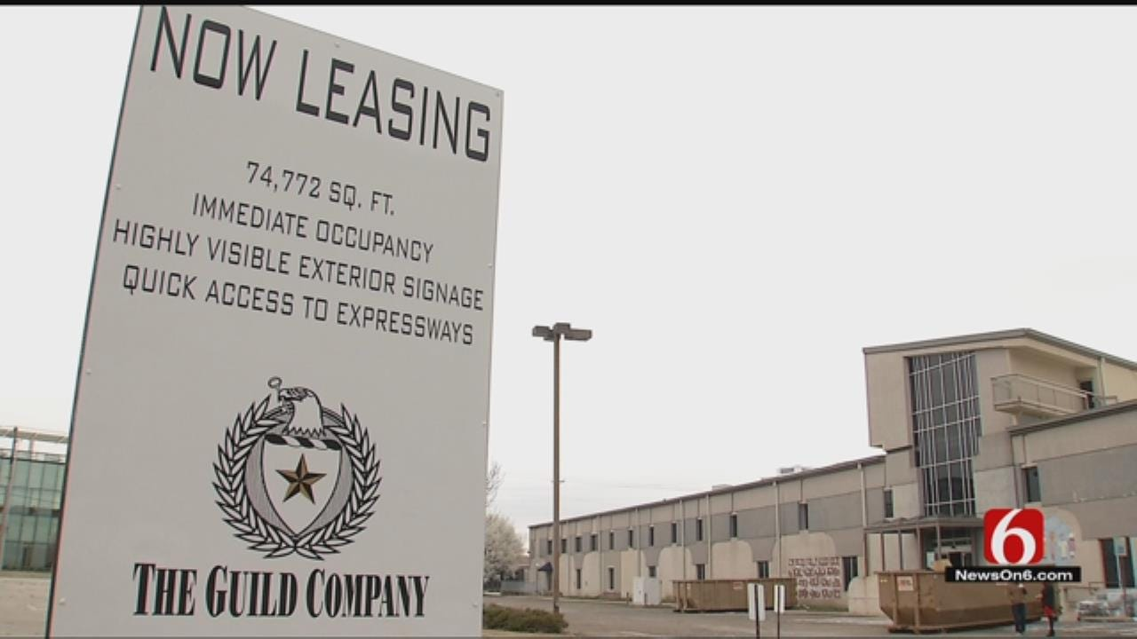 Renovations Underway Inside Downtown Tulsa's Hartford Building