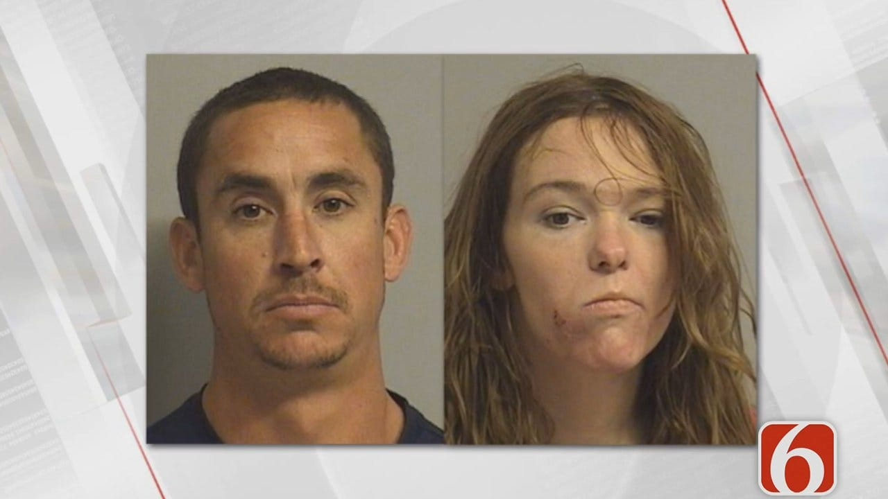 Tess Maune Reports Tulsa Police Find Baby In Cold Pickup, Parents Arrested