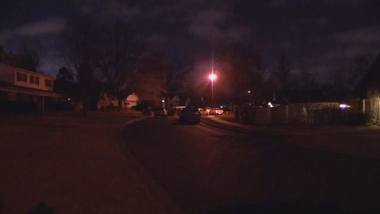 WEB EXTRA: Video From Scene Of A Standoff At A Tulsa Home