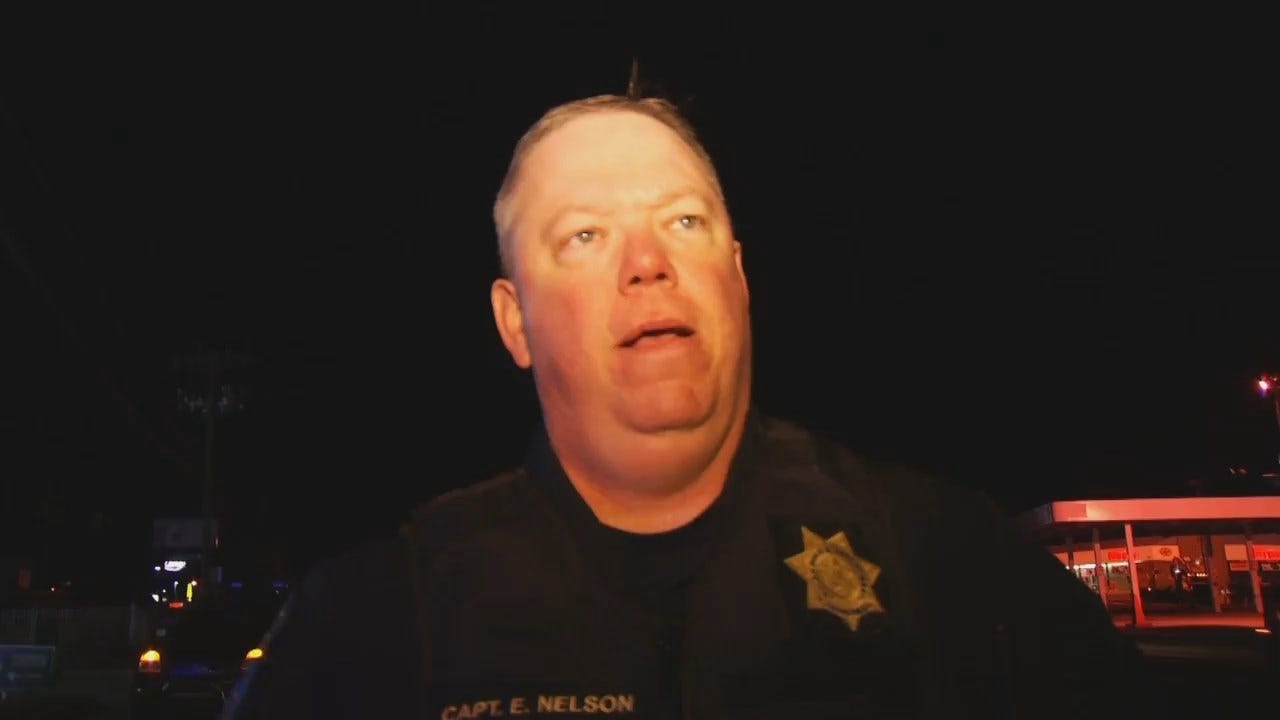 WEB EXTRA: Tulsa Police Captain Eric Nelson Talks About Abduction, Robbery