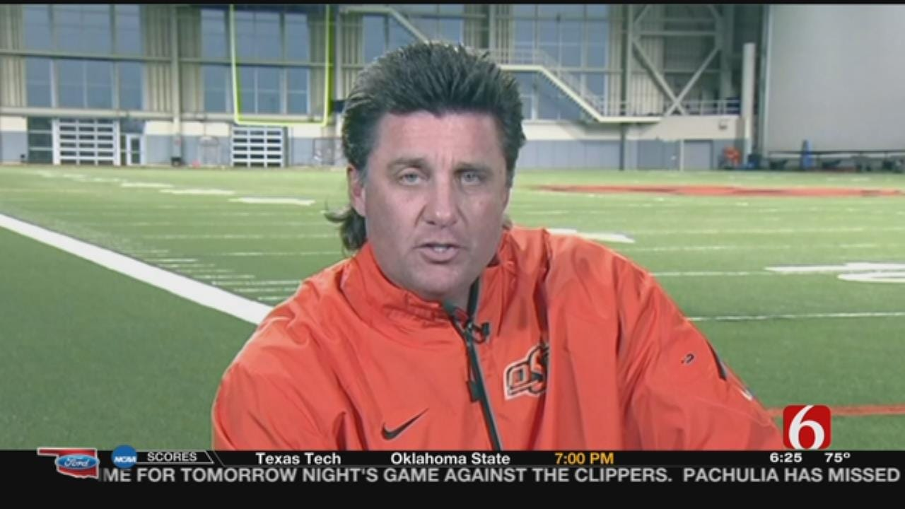 WATCH: Mike Gundy Talks Properly Caring For Mullet