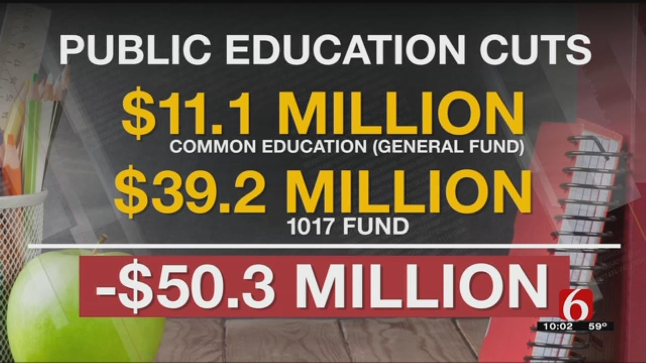 Oklahoma Public Schools Brace For Additional Cuts