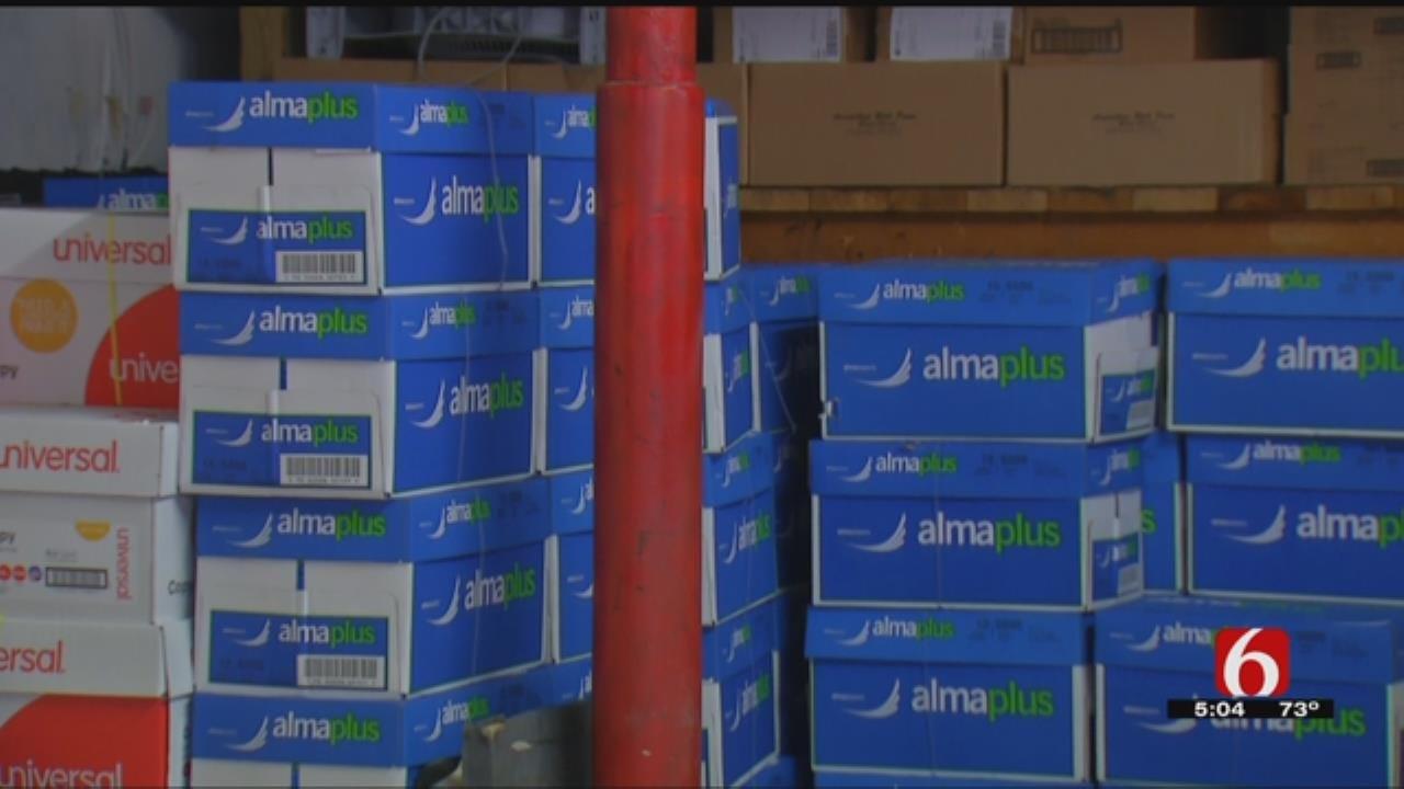 Local Company Holding Paper Drive For Sapulpa, Tulsa Public Schools