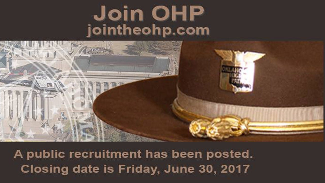 OHP Recruits For 65th Academy As It Faces Trooper Shortage
