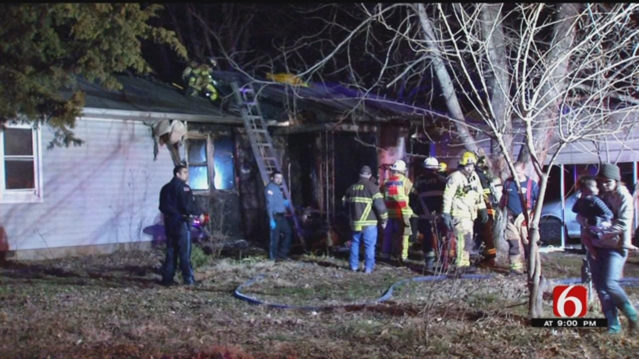 Four Children Injured In Chouteau House Fire