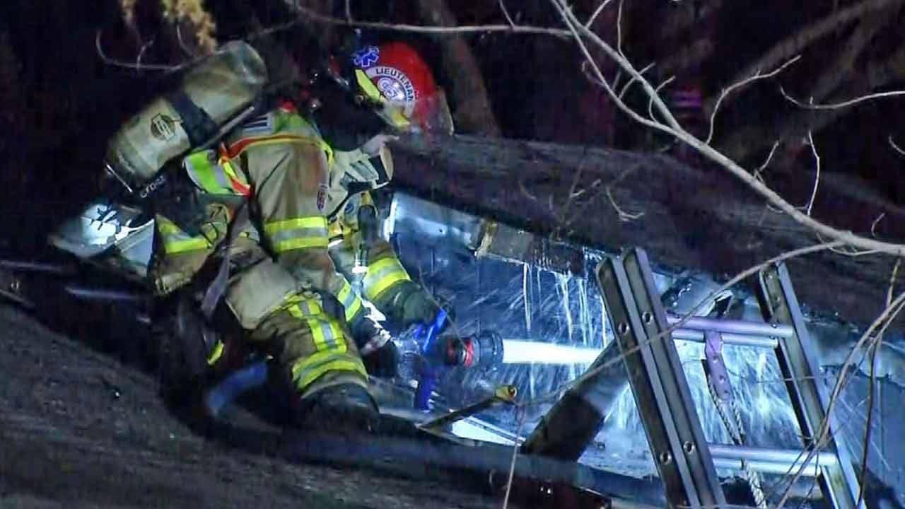 Four Children Hurt In Chouteau House Fire