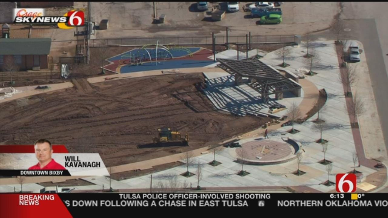 Renovations Coming To Bixby's Charley Young Park