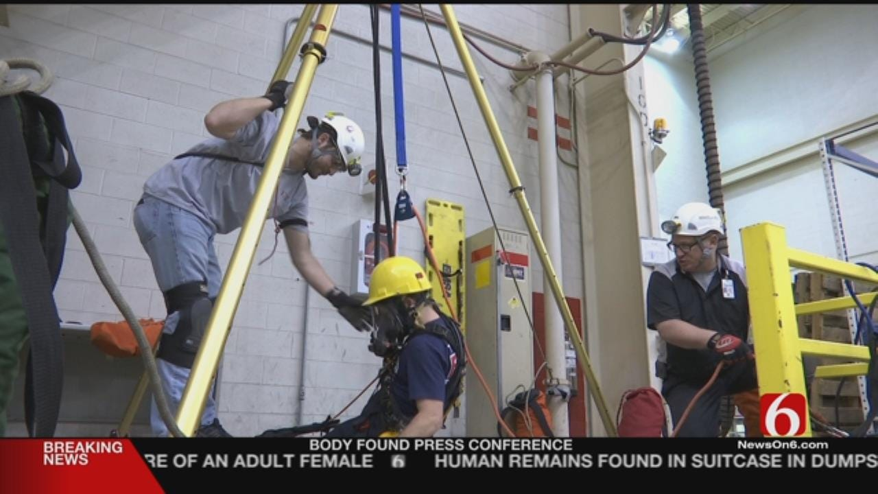 Tulsa Firefighters Train For Special Situation Rescues