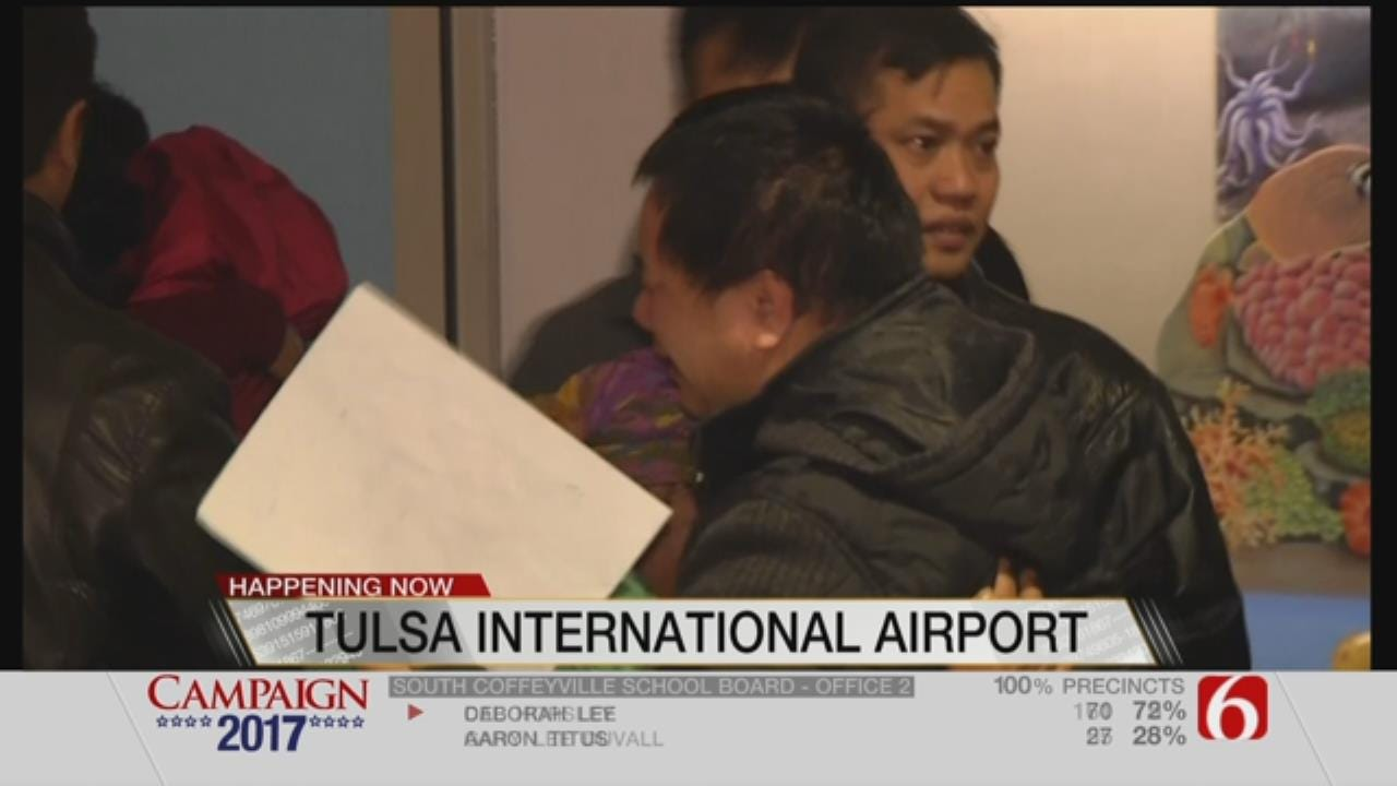 Refugees From Russia, Burma Arrive In Tulsa