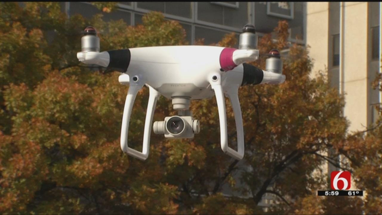 Drone Helps Chase Down Suspects In Early Morning Robbery