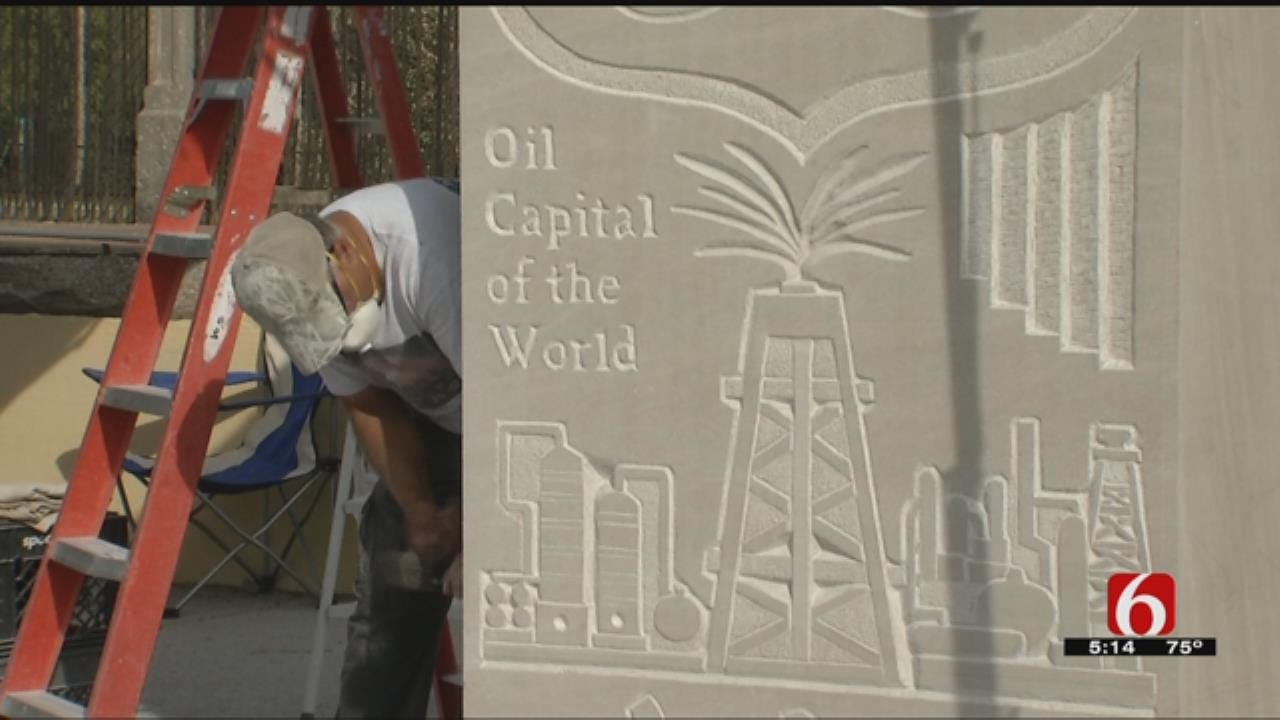 Sculptures Showing Tulsa, Route 66 History Nearing Completion