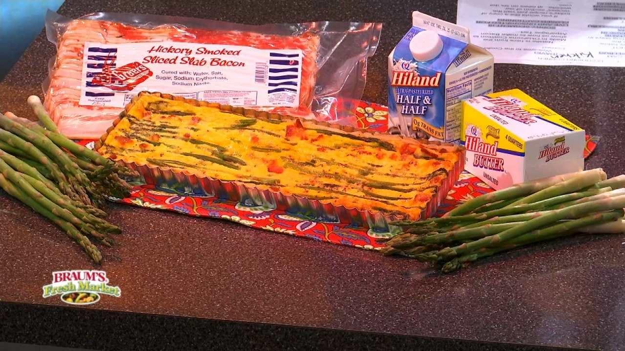 Bacon Asparagus Tart
