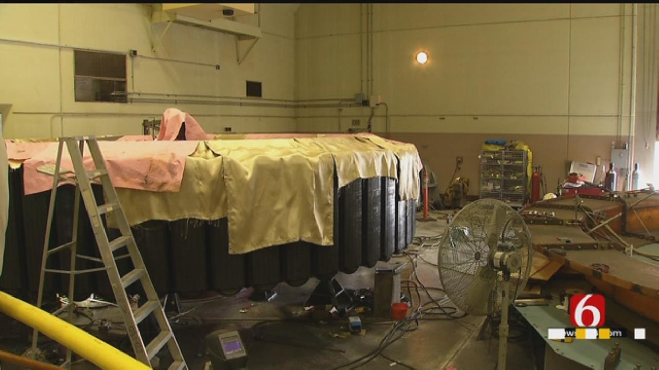 Historic Piece Of Equipment Removed For Repairs At Keystone Dam