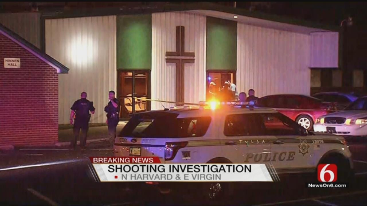 Tulsa Police: Bystander Hit By Bullet At Church Following Nearby Shooting