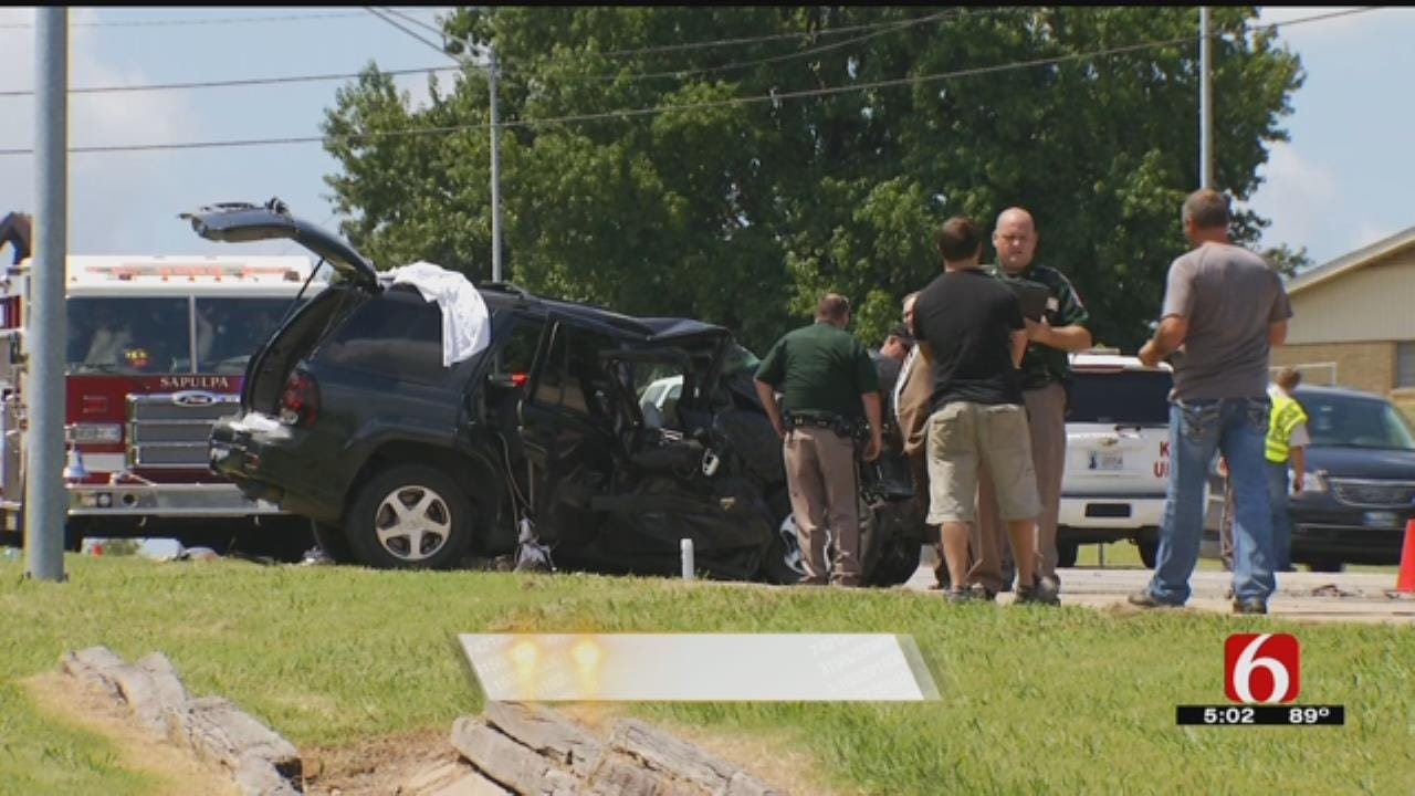 One Dead After Head-On Collision In Sapulpa