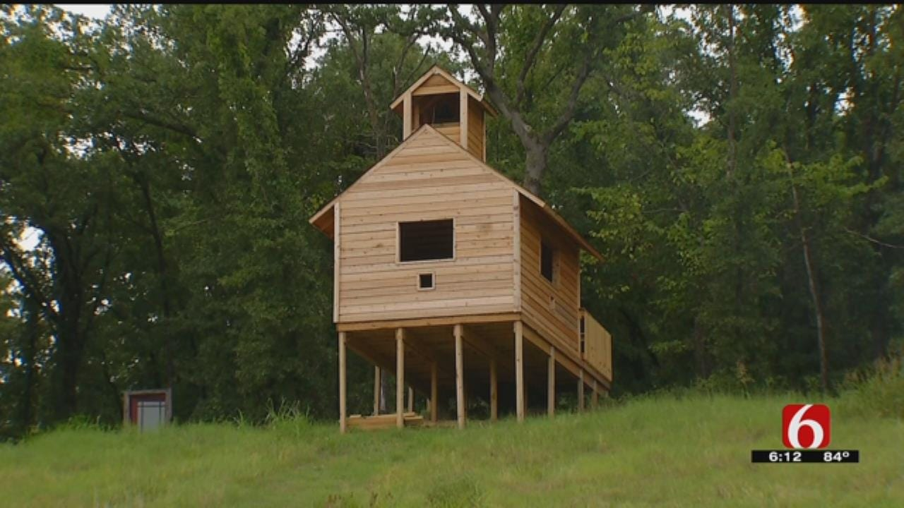 Education Foundation Helps Bring Outdoor Classroom To Sand Springs School