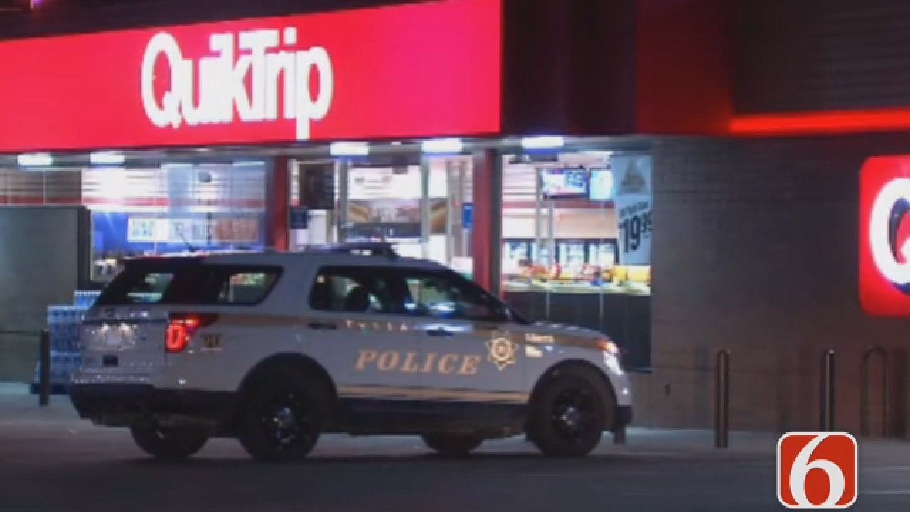 Dave Davis Reports On Armed Robbery At Tulsa QuikTrip