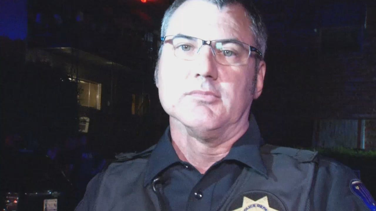 WEB EXTRA: Tulsa Police Sgt. Jack Henley Talks About Home Invasion
