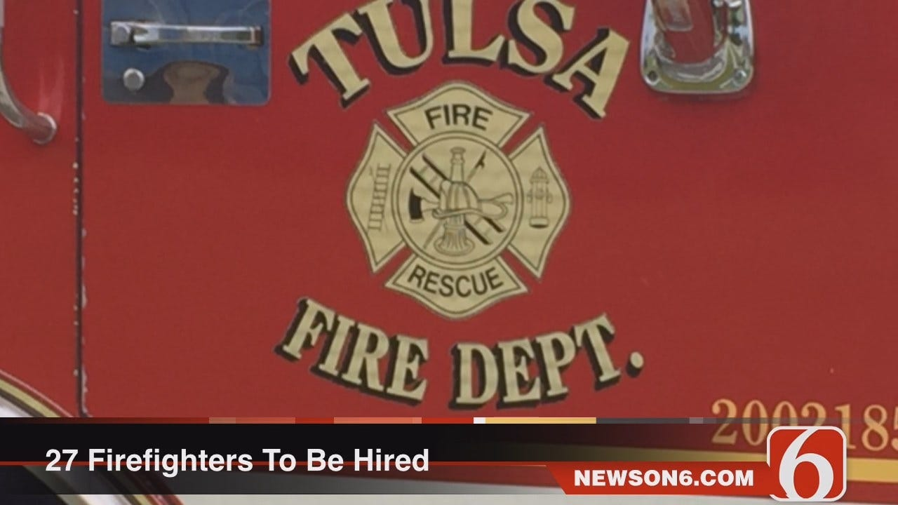 Melissa Hawkes Says Tulsa To Hire 27 New Firefighters Thanks To FEMA Grant