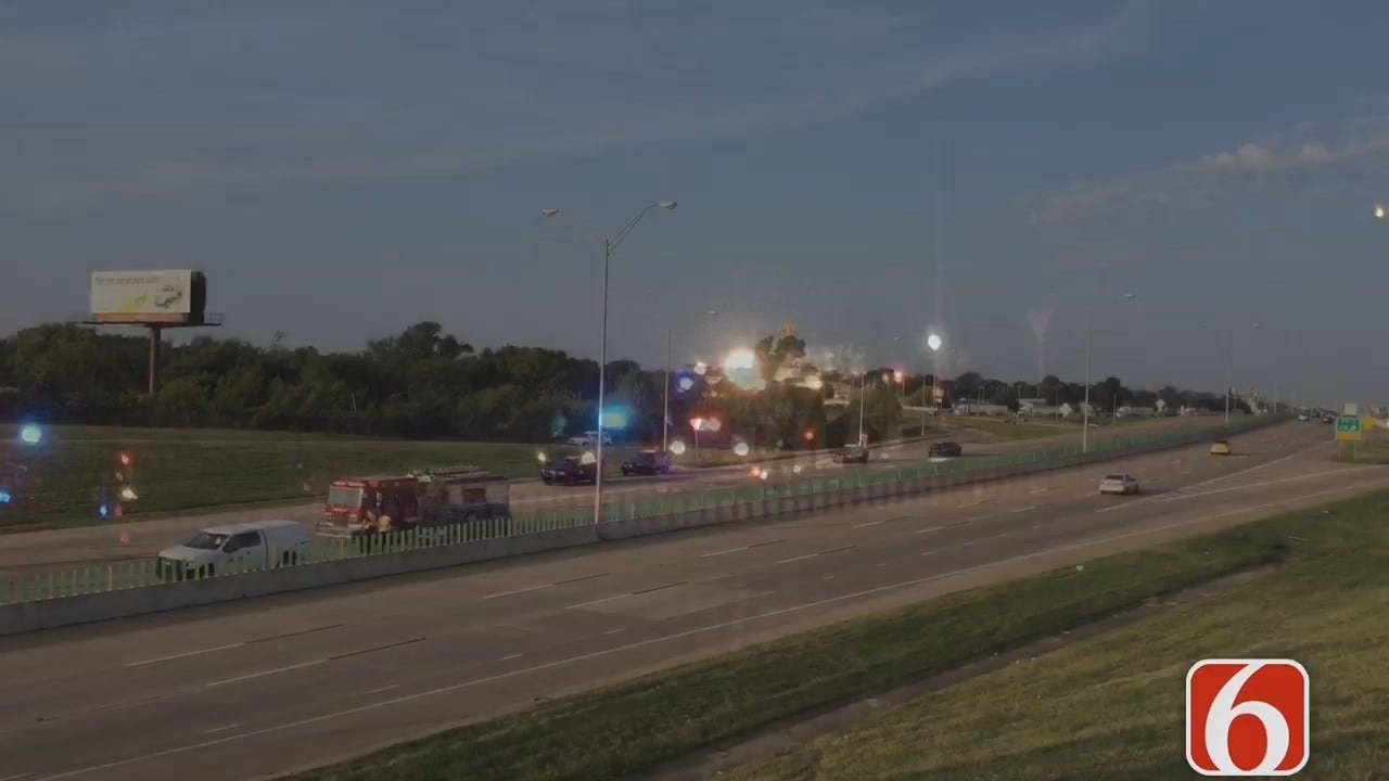 Dave Davis Reports OHP Releases Name Of Man Killed Walking On Tulsa Highway