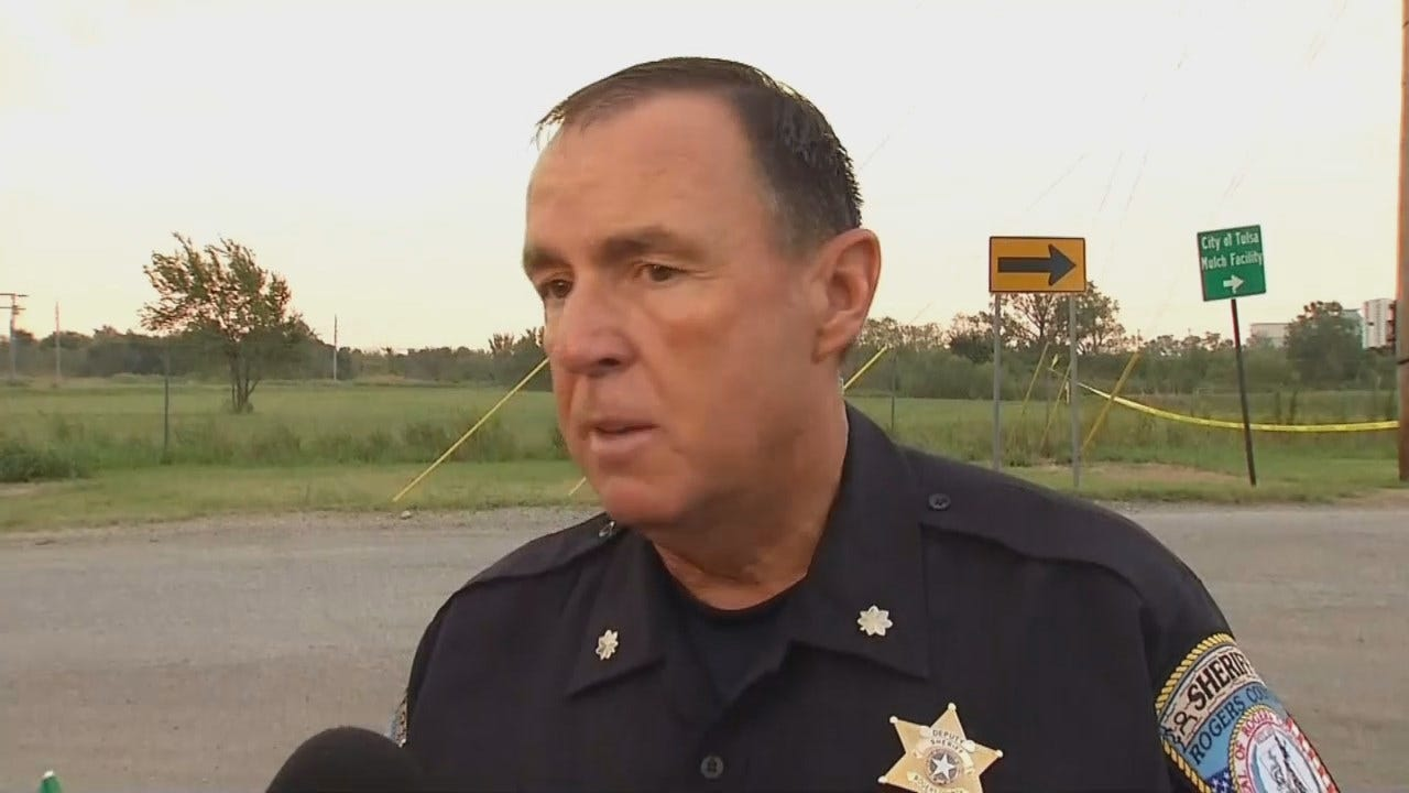 Rogers County Sheriff's Office Major Coy Jenkins Talks About The Homicide