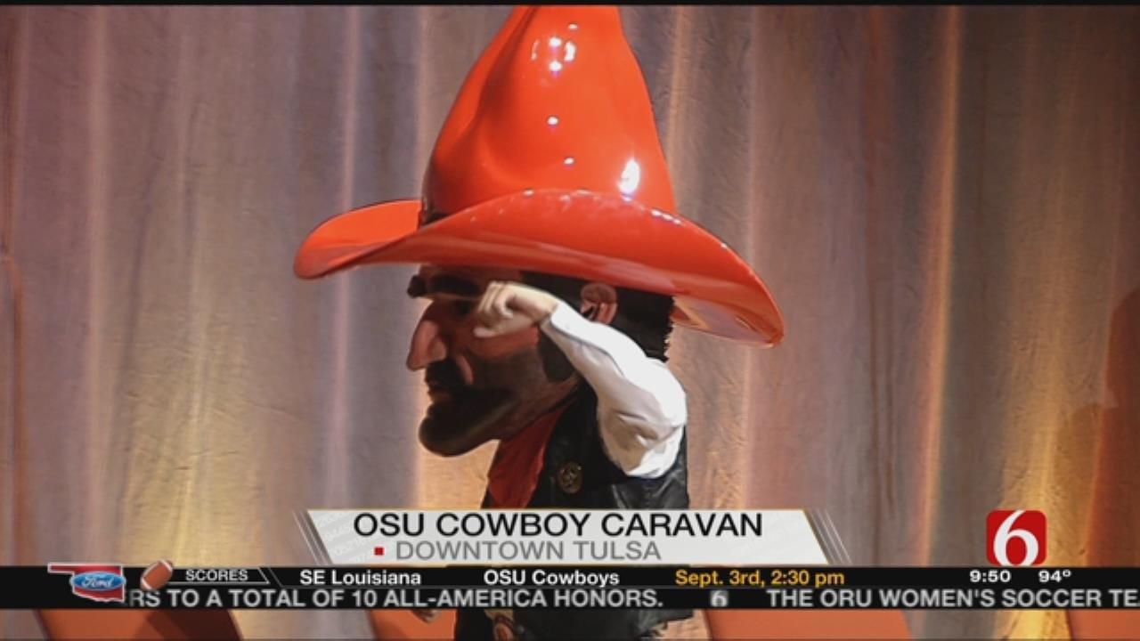 Cowboy Caravan Stops In Tulsa