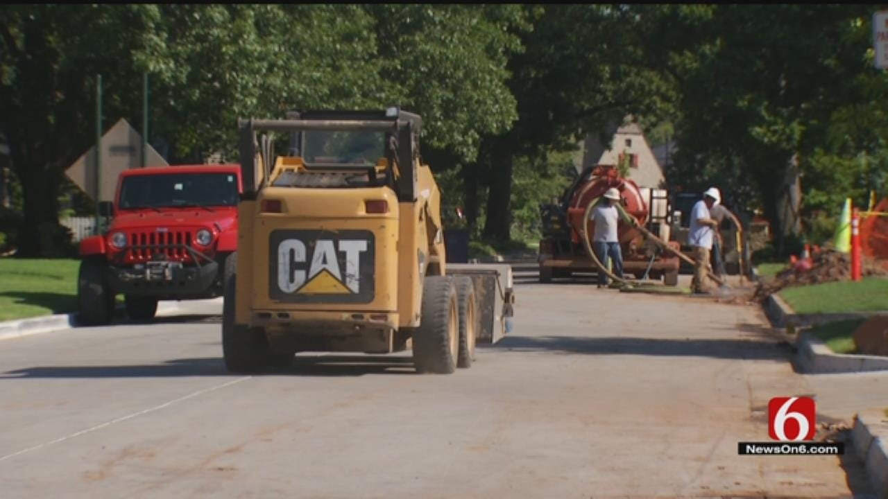 Midtown Neighbors Running Into Problems As Gathering Place Construction Continues