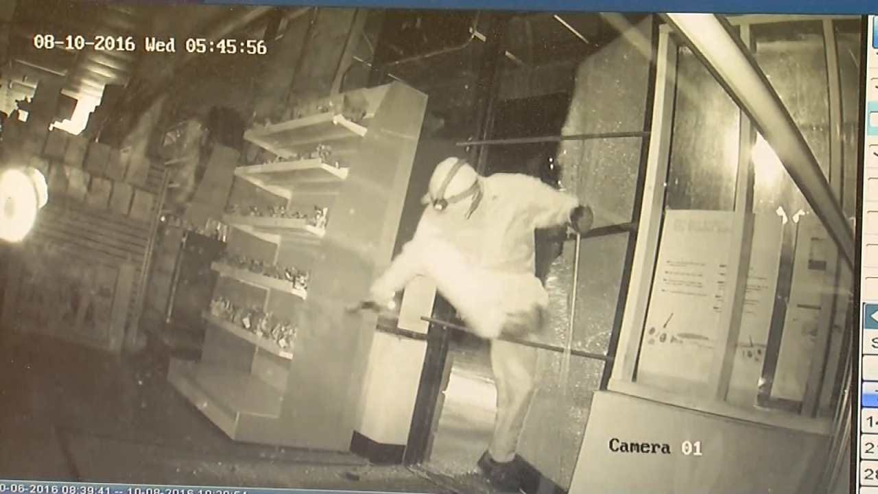 WATCH: Surveillance Footage Of Tulsa HobbyTown Burglary