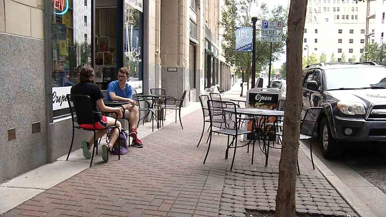 City Presses Pause On Downtown Businesses Outdoor Seating Requests