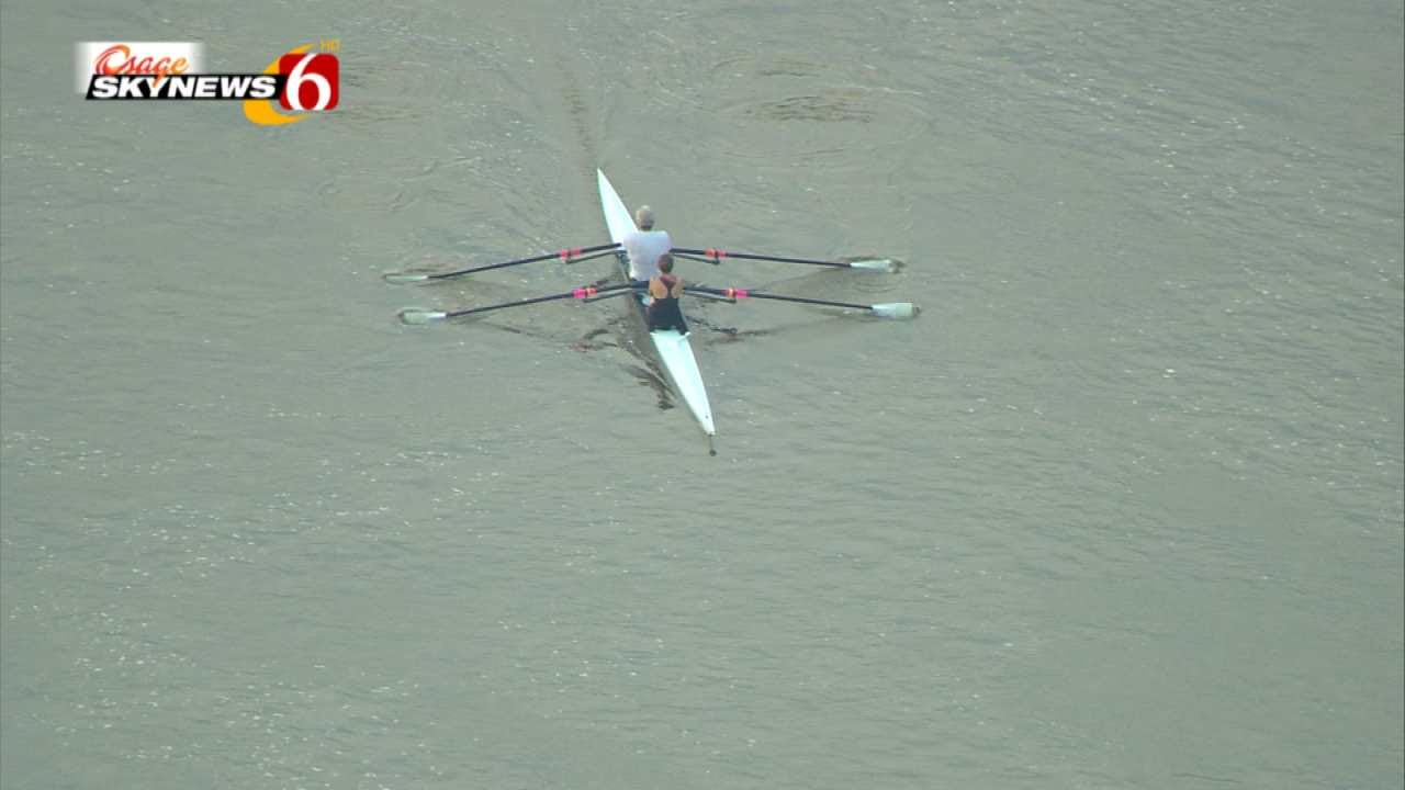 Tulsa Rowing Club Captured By Osage SkyNews 6 HD