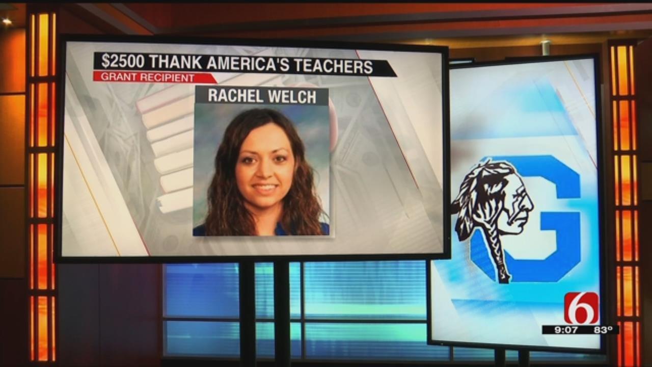 Glenpool First Grade Teacher Awarded Grant For Classroom Lab