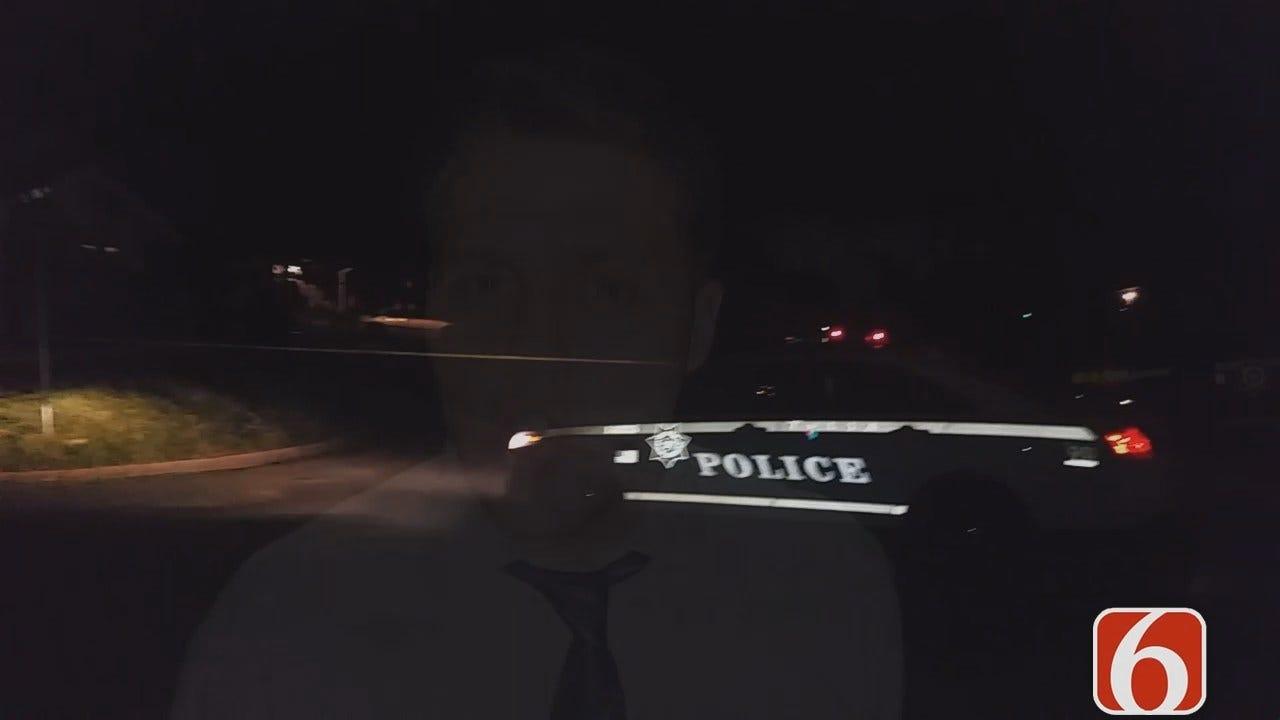 Dave Davis Reports On Double Shooting Inside Tulsa Home