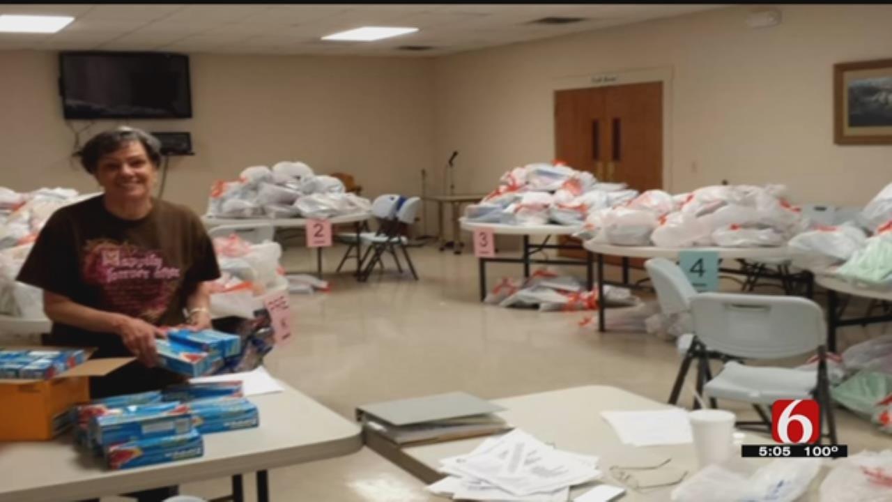 Program Helping Pawhuska Students Get School Supplies Continues To Grow