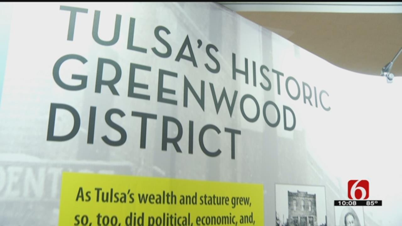 Greenwood Experience Exhibit Opens At Tulsa Airport