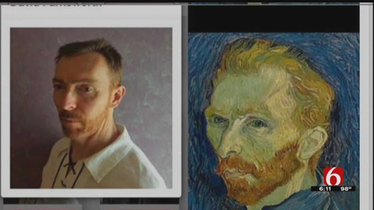 ORU Faculty Member In Running To Be Vincent van Gogh