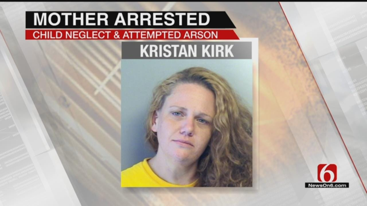 Tulsa Police: Woman Tries To Kill Her 2 Kids, Calls Them Cannibals